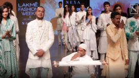 Mohammed Mazhar Showcases an Impressive Collection at LFW SR19