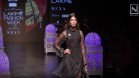 Pooja Hegde Walks the Ramp for Saaksha and Kinni at Lakme Fashion Week Summer Resort 2019