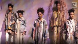 Helena Bajaj Larsen and Yavi Make Art Meet Fashion at Lakme Fashion Week SR19
