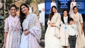 Designers and their Showstoppers - Aahana Kumra and Kubbra Sait