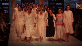 The Label EKA Showcases its Collection at Lakme Fashion Week Summer Resort 2019