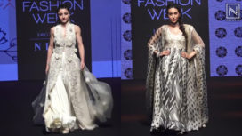 Designers and Their Showstoppers - Karisma Kapoor and Soha Ali Khan