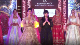 Pooja Hedge Walks for Neeta Lulla at Weddings Unveiled Event