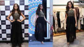 Tara Sutaria at the Launch of Label Ritu Kumar's SS19 Collection
