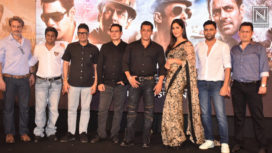Salman Khan and Katrina Kaif Come Together for the Song Launch of Bharat