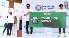 Anil Kapoor Creates Awareness About Gender Equality with a Guinness World Record