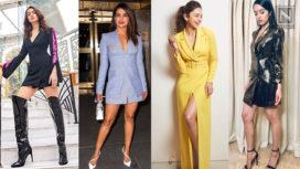 B-town Divas Slaying in Blazer Dresses