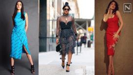 Bollywood Divas Beating the Heat in Summer Ready Tea Length Dresses