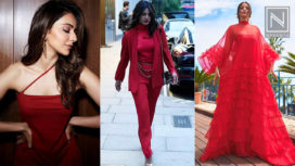 Bollywood Celebs Styled in Classic Red Hues