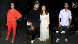 Bollywood Celebrities Attend the Screening of De De Pyaar De