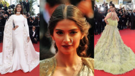 Here's How Sonam Kapoor's Cannes Fashion has Evolved Over the Years
