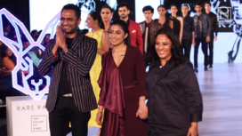 Navneet Kaur Turns Gorgeous Showstopper to House of Rare at BGTFW 2019