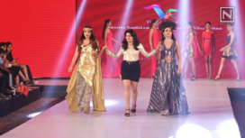 Shwetha Nandakumar Showcases at Bangalore Times Fashion Week 2019