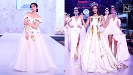 Designers and their Showstoppers - Pranitha Subhash and Anukreethy Vas