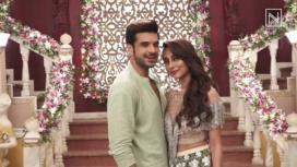 Karan Kundra and Anusha Dandekar Shoot for a Romantic Music Video