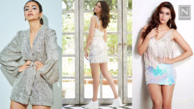 Bollywood Beauties Glamming it Up in Sequinned Mini Numbers