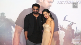 Prabhas and Shraddha Kapoor Come Together at the Trailer Launch of Saaho