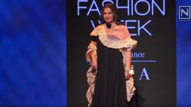 Shabana Azmi Sashays Down the Runway for Kaveri Lalchand at Lakme Fashion Week WF19