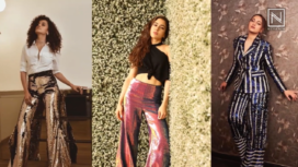 B-town Ladies Bringing the Bling back with the Glittery and Glamorous Pants