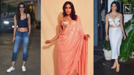 Bollywood Ladies Styling their Outfits with Gorgeous Bralettes