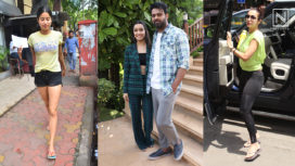 Celebrities like Janhvi Kapoor, Vicky Kaushal and Many More Stepping Out in Style