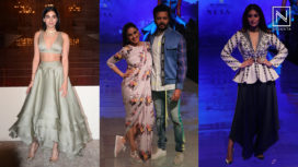 Top 10 Red Carpet Looks by the Celebs from Lakme Fashion Week Winter Festive 2019
