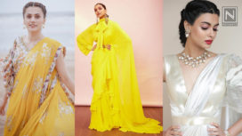 Bollywood Celebrities Flaunting the Evergreen Saris with a Twist
