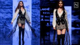 Tara Sutaria Makes her Debut at Lakme Fashion Week WF 19 with Ritu Kumar's Collection