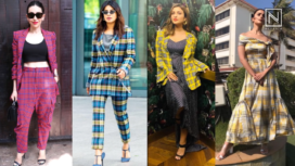 B-town Divas Incorporating the Classic and Contemporary Tartan Print in their Outfits