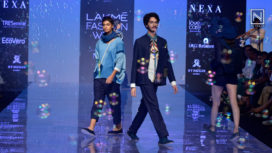 Eleven Eleven Showcase on Day 2 at Lakme Fashion Week Winter Festive 2019