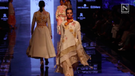 Jajaabor's Collection Showcase at Day 4 of Lakme Fashion Week Winter Festive 2019