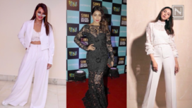 Bollywood Celebs Raise the Glam Quotient in Elegant Lacey Ensembles