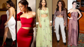 Nushrat Bharucha's Top 5 Fashionable Looks from Dream Girl Promotions