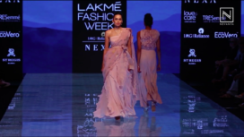 A Mountain Story by Archana Rao at Lakme Fashion Week Winter Festive19