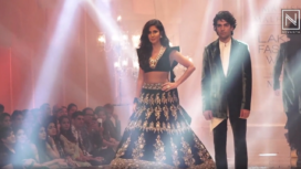Katrina Kaif Stuns as a Showstopper for Manish Malhotra at Lakme Fashion Week WF19