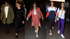 Bollywood Celebrities Serving Style Goals with their Airport Looks