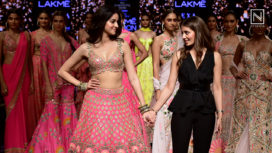 Ananya Panday Graces the Ramp for Arpita Mehta at Lakme Fashion Week WF19