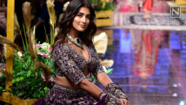 Pooja Hegde Walks for Jayanti Reddy at Lakme Fashion Week Winter Festive 2019
