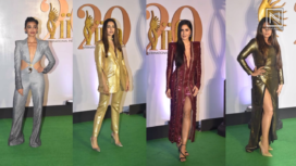 Bollywood Celebs Rocking Shades of Metallic at IIFA Rocks 2019