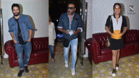 Celebrities at the Special Screening of Sanjay Dutt Starrer Prassthanam