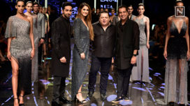 Ayushmann Khurrana and Disha Patani Walk for Rohit Gandhi & Rahul Khanna at LFW WF19