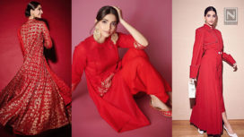 Sonam Kapoor's Five Red Hot Looks from the Zoya Factor Promotions