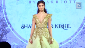 Tara Sutaria Turns Gorgeous Muse to Shantanu & Nikhil's Latest Couture Collection
