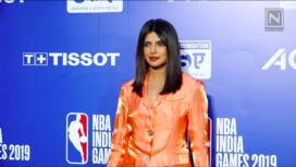 Priyanka Chopra, Parineeti Chopra, and More at NBA India Games 2019