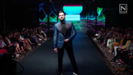 Neil Nitin Mukesh Turns Showstopper for Narendra Kumar at Tech Fashion Tour