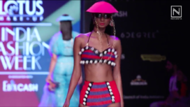 Shivan & Narresh Showcase The Beach Bulletin at LMIFW Spring Summer 2020