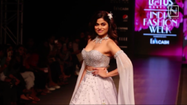 Shamita Shetty Turns Showstopper for Priya Machineni at LMIFW SS20