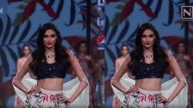 Athiya Shetty Turns Showstopper for Mahima Mahajan at Lotus Makeup India Fashion Week SS20