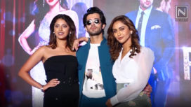 The Star Cast of Fittrat Attend the Trailer and Song Launch Event