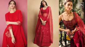 Celeb-Approved Karwa Chauth Special Ethnic Outfits in Red